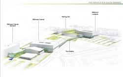 Projet agrandissement de la Polyclinique de l'Atlantique avec centre PCNA: Pied et Cheville Nantes Atlantique
