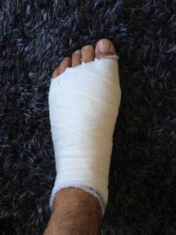 Pansement de pied