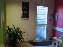 Salle d'attente PCNA les merisiers