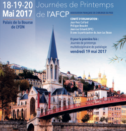 PCNA au Congrès Français pied cheville 2017