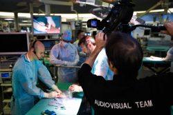 Dr Ronny Lopes (cours de chirurgie mini-invasive et percutanée du pied) IRCAD Strasbourg Avril l2018