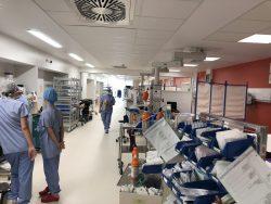 couloir du bloc opératoire